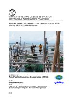 Improving coastal livelihoods through sustainable aquaculture practices: Full report