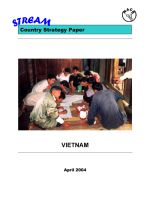 Vietnam country strategy paper