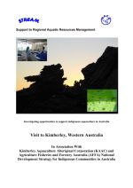 Investigating opportunities to support indigenous aquaculture in Australia