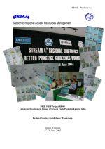 Report of the Better-Practice Guidelines Workshop, Hanoi, Vietnam, 17-18 June 2005