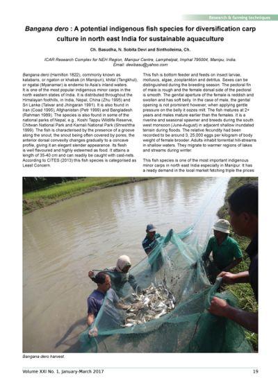 Aquaculture Asia Magazine, Volume 21(1): 19-23