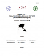 Quarterly Aquatic Animal Disease Report, October-December 2016