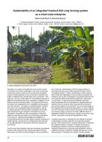 Sustainability of an integrated livestock-fish-crop farming system as a small-scale enterprise