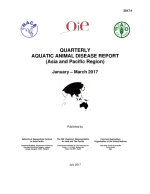Quarterly Aquatic Animal Disease Report, January-March 2017