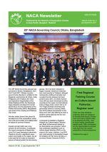 NACA Newsletter, Vol. XXXII, No. 3, July-September 2017