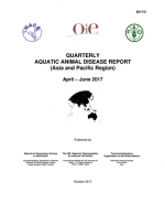 Quarterly Aquatic Animal Disease Report, April-June 2017