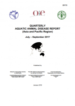 Quarterly Aquatic Animal Disease Report, July-September 2017