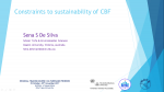 Constraints to the sustainability of culture-based fisheries