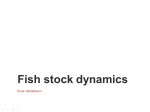 Fish stock dynamics