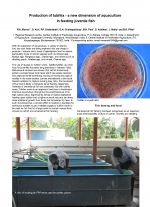 Production of tubifex - a new dimension of aquaculture in feeding juvenile fish