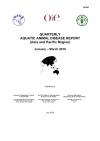 Quarterly Aquatic Animal Disease Report, January-March 2018