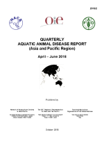 Quarterly Aquatic Animal Disease Report, April-June 2018