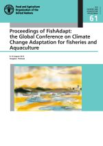 Proceedings of FishAdapt: The Global Conference on Climate Change Adaptation for Fisheries and Aquaculture