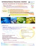 International Training Course - Biology and Pathology of the Penaeid Shrimp