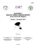 Quarterly Aquatic Animal Disease Report, October-December 2018