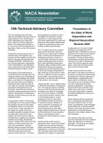 NACA Newsletter, Vol. XXXV No. 4, October-December 2020