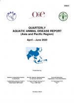 Quarterly Aquatic Animal Disease Report, April-June 2020