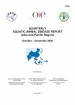 Quarterly Aquatic Animal Disease Report, October-December 2020