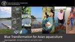 "Video presentation on FAO's ""Blue Transformation"" initiative"