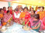 Imparting skill on formulated fish feed preparation to women's self-help groups in villages – an experience